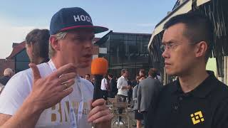 """Interview Changpeng Zhao, ceo of Binance: """"Decentralized exchanges will be the future"""""""