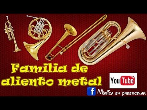 FAMILIA DE ALIENTO METAL