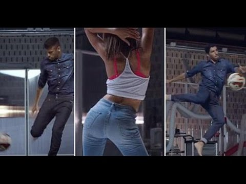 The Hyperflex Jeans - And FC Barcelona Commercial