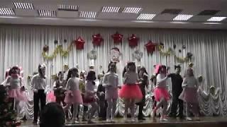 Танец озорных собачек. 21.12.17г. 4-Бкл., 20 школа, Луганск