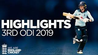 Jones & Taylor Star In Series Whitewash | England Women v Windies Women 3rd ODI 2019 - Highlights