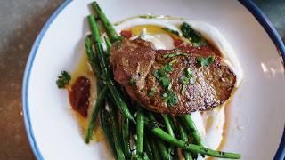 Date Night Lamb Steak Recipe || Tess Ward