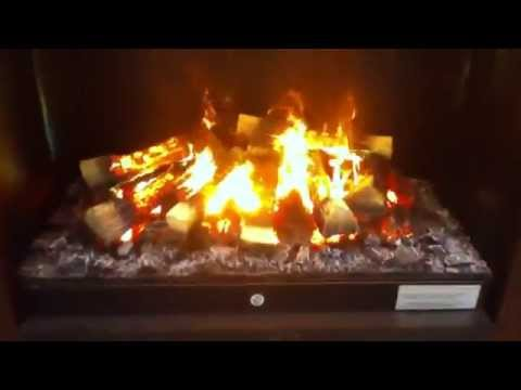 Электрокамин Dimplex Opti-myst Albany wf Video #1