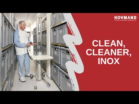 Hovmand - Stainless Steel lifter - INOX 90 Icon