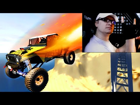 CRAZY High Speed Jumps #36 BeamNG Drive CrashTherapy