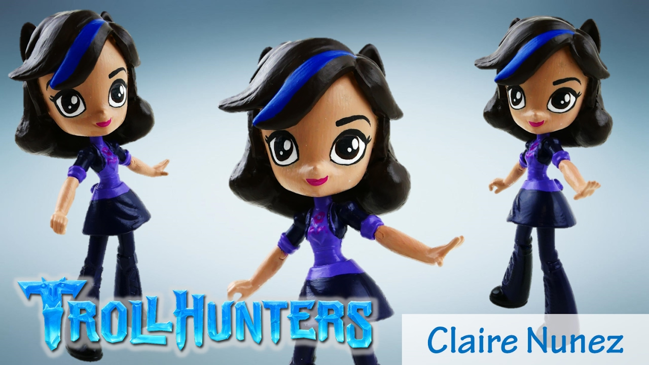 DIY Netflix DreamWorks TrollHunters Claire Doll Custom DIY Toy Tutorial| Evies Toy House