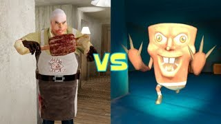 Mr. Meat vs Evil SpongeBob