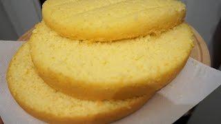 Бисквит на 5 яиц в мультиварке/бисквит без проблем/получается всегда/Biscuit
