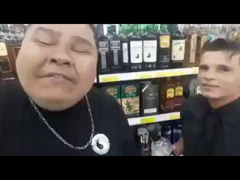 DÁ LHE MARCIO - VÓ SANTA SUPERMERCADO VIDEO COMPLETO