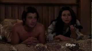Amelia and James. 'I'm in bed with a Republican!'