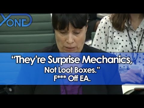 """""""They're Surprise Mechanics, Not Loot Boxes."""" F*** Off EA."""