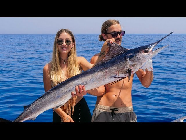 Success in the Messina Strait. Swordfish for Days!! (Sailing La Vagabonde) Ep. 114