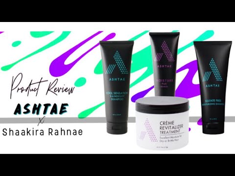 Ashtae Product Review - HowTo Style an Updo on Natural Hair