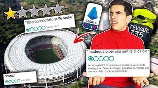 🏟⚽ HO PROVATO LO STADIO PEGGIO VALUTATO della SERIE A e sono..!! Stadium advisor ep.1