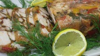 Рецепт- Заливное из курицы