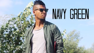 CASUAL NAVY GREEN // OOTD MENS FASHION