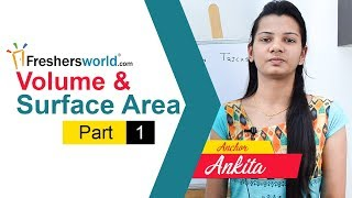 Aptitude Made Easy – Volume and surface area | Basic geometry part-1
