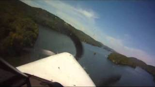 Seaplane flight in a TURBINE Maule
