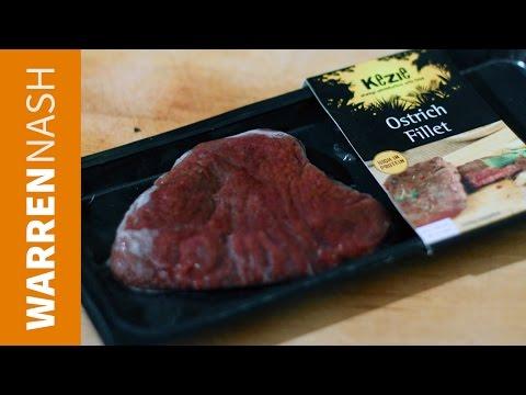 Iceland Ostrich fillet steak review – Food Reviews by Warren Nash