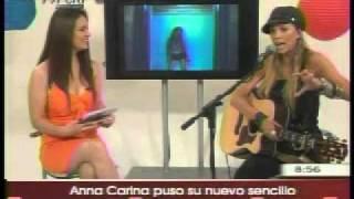 ANNA  CARINA  COPELLO PRESENTA NUEVO SINGLE - Dime si Esto es Amor.