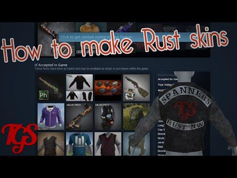 How to make Rust skins!