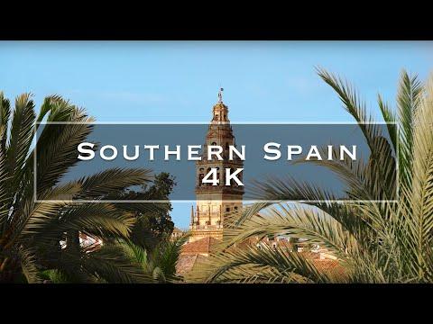 סרטון טיולים שמציג את נופי דרום ספרד באיכות 4K מתקדמת