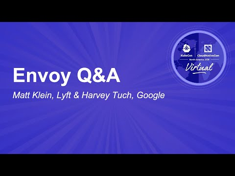Image thumbnail for talk Envoy Q&A