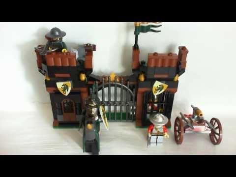 Vidéo LEGO Kingdoms 7187 : L'évasion de la prison du dragon