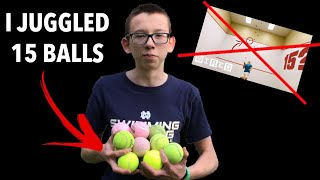 Why It Is Possible to Juggle 15 Balls   PROVING WIRED WRONG