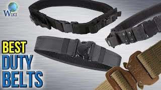 10 Best Duty Belts 2017