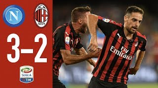 Highlights Napoli 3-2 AC Milan - Matchday 2 Serie A 2018/2019