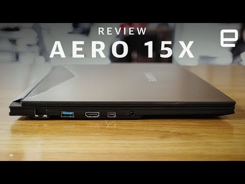 Gigabyte Aero 15X Gaming Laptop review