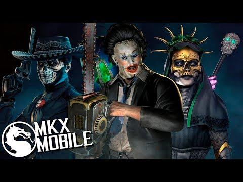 НОВЫЕ ПЕРСОНАЖИ ОБНОВЛЕНИЯ 1.21 в Mortal kombat X Mobile (видео)