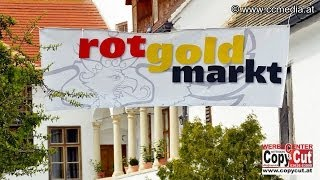 preview picture of video '5. 4. 2014 - Cselley Mühle in Oslip - Rot Gold Markt - CCM-TV.at'