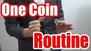 Coin TricksOne Coin RoutineUHM