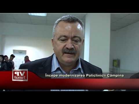 Începe modernizarea Policlinicii Câmpina