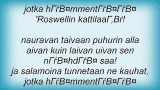Yup - Roswellin Kattilaan! Lyrics