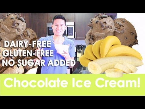 Video Chocolate Ice Cream! Dairy-Free Gluten-Free!