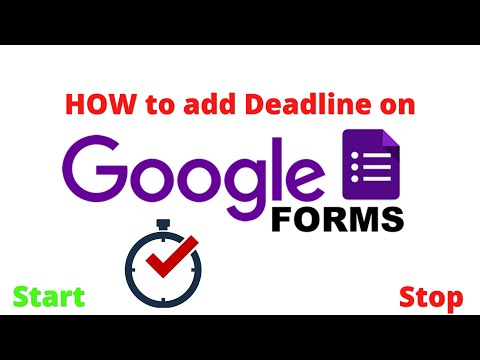 How to Set Time Limit for Google Forms in Tamil   #googleform ...