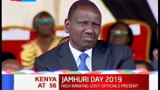President Kenyatta's 56th jamhuri day full speech at Nyayo national stadium