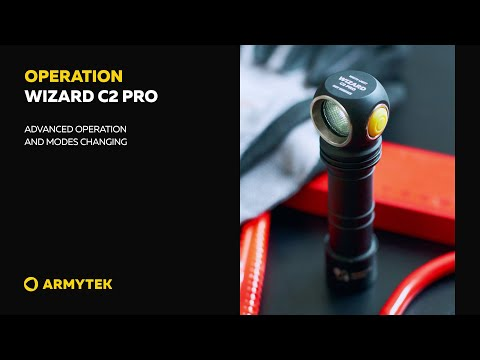 Wizard C2 Pro – advanced operation and modes changing