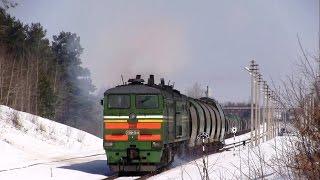 Тепловоз 2ТЭ10М-3646 / Diesel locomotive 2TE10M-3646
