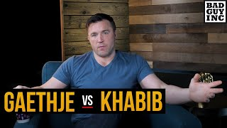 How does Justin Gaethje beat Khabib Nurmagomedov?