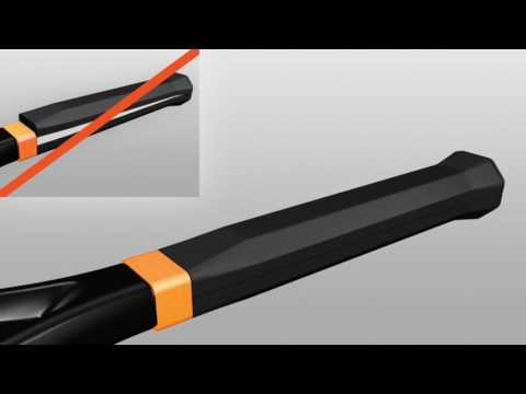 Head Graphene Touch Speed MP Adaptive Tennis Racket - How to install SPACER RINGS