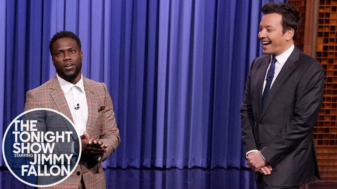 Co-Host Kevin Hart Roasts Jimmy Fallon During His Monologue thumbnail