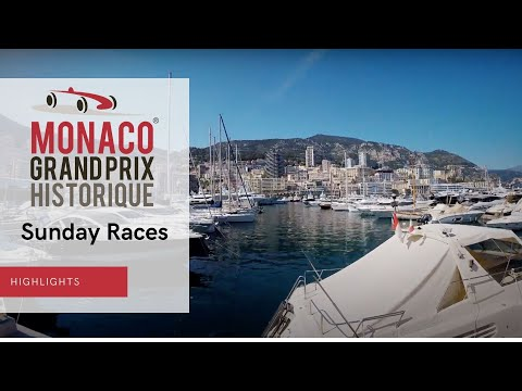 Highlights Sunday Races (Morning) - Grand Prix Monaco Historique 2021