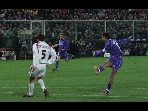 Fiorentina-Milan 4-0 2000-2001 [HD]
