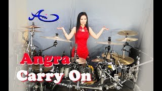 [New] Angra - Carry On drum cover by Ami Kim (45th)