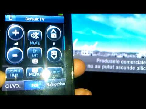Samsung RMC30D1 Touch Screen Remote Works With Everything And internet Browsing ;). MUIE Chelie GGF