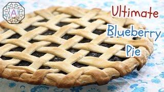 Ultimate Blueberry Pie Using Frozen Blueberries (블루베리 파이) | Aeris Kitchen
